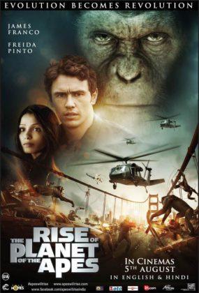 فيلم الاكشن Rise of the Planet of the Apes 2011 مترجم اونلاين