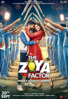 فيلم الكوميديا الهندي The Zoya Factor 2019 مترجم اونلاين