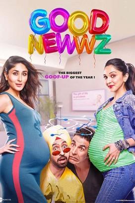 فيلم الكوميديا الهندي Good Newwz 2019 مترجم اونلاين
