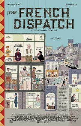 فيلم The French Dispatch 2020 مترجم اونلاين